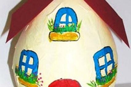 L'uovo casa