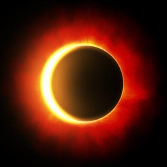 Eclissi solare spiegata ai bambini
