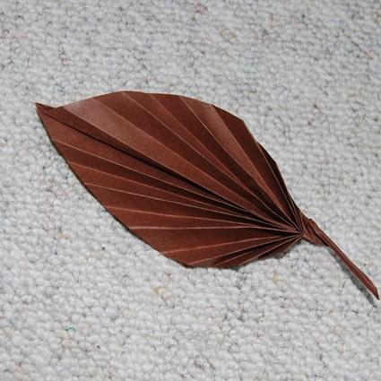 Foglia origami