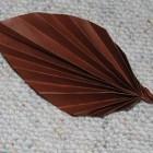 Origami foglia