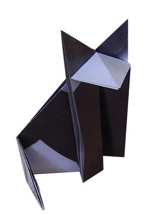 Origami gatto