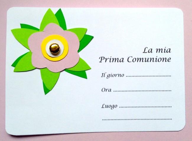 Invito prima comunione fai da te