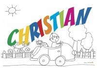 CHRISTIAN sig