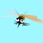 Un ape da un tappo di sughero