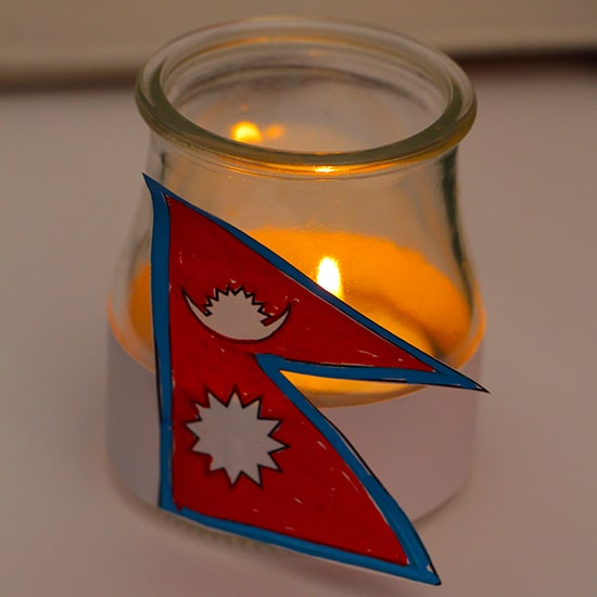 lumino per il nepal