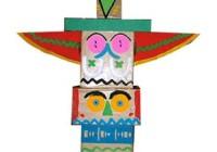 Giochi da costruire per bambini giocattoli fai da te per - Totem palo modelli per bambini ...
