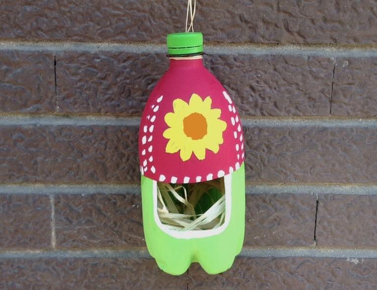 Riciclo creativo bottiglia
