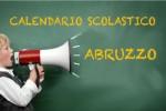 Calendario scolastico Abruzzo 2017/2018