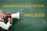 Calendario scolastico Abruzzo