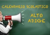 Calendario Scolastico 2020 Bolzano.Calendario Scolastico 2019 2020 Trentino Alto Adige Scuola
