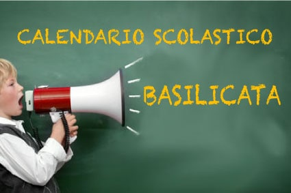 Calendario scolastico Basilicata