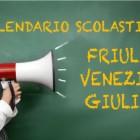 Calendario scolastico Friuli Venezia Giulia 2018/2019