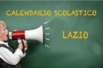 Calendario scolastico Lazio 2016/2017