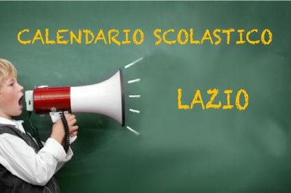 Calendario scolastico Lazio