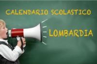 Calendario scolastico Lombardia