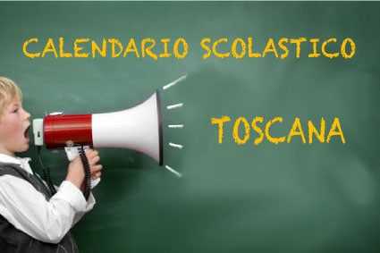 Calendario scolastico Toscana