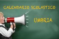 Calendario scolastico Umbria