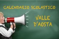 Calendario scolastico Valle d'Aosta