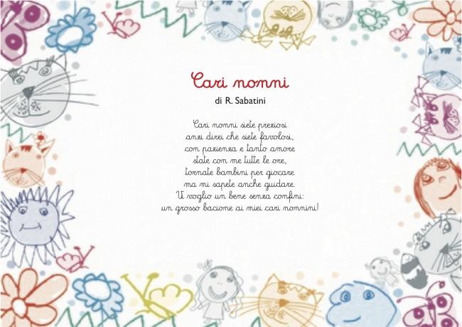 Top Una raccolta di poesie per i nonni. Bambini scuola primaria e dell  LS08