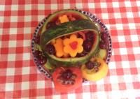 Cestino frutta estiva