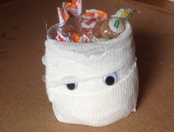 Porta caramelle Halloween