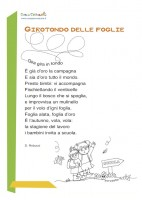 Girotondo delle foglie: poesia per bambini