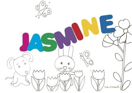 Jasmine: significato e onomastico