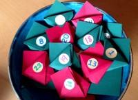 calendario avvento origami