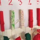 Calendario di Natale da appendere