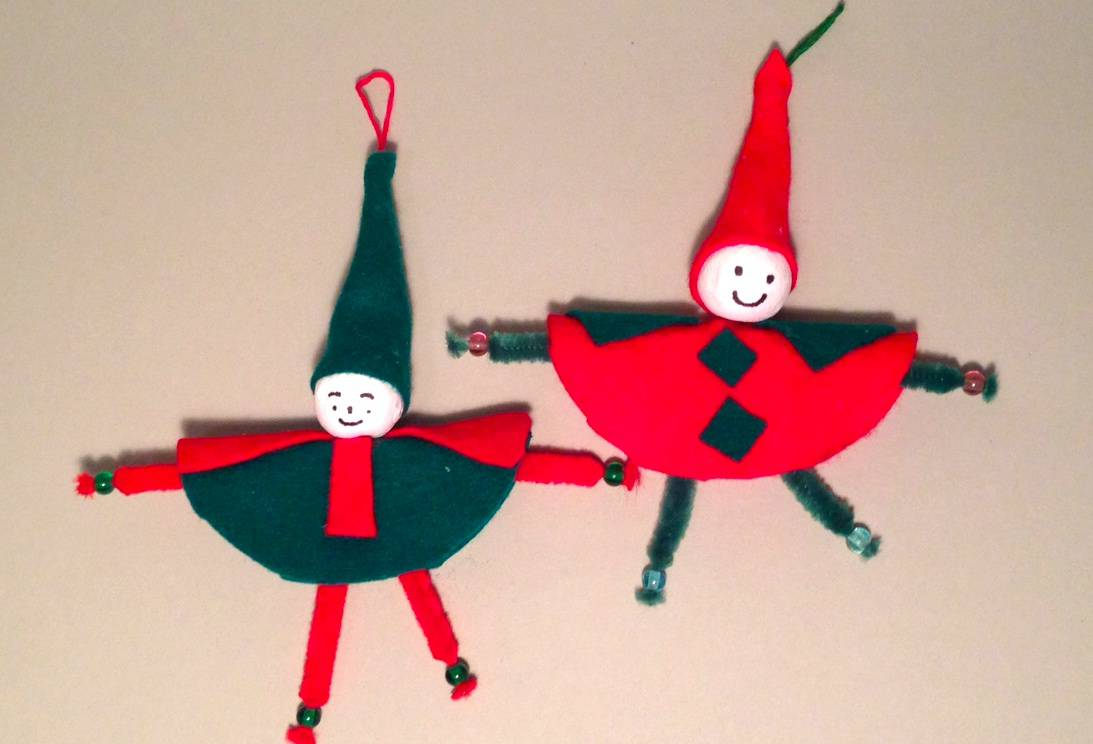 Lavoretto di natale per bambini for Decorazioni natalizie per bambini scuola primaria