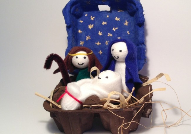 Presepe Fai Da Te Per Bambini Presepi Di Natale