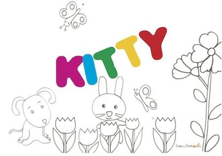 Kitty significato e onomastico