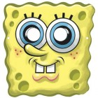 SpongeBob ciglia lunghe