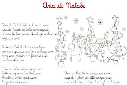 Canzone Aria Di Natale.Aria Di Natale Canzone Per Bambini