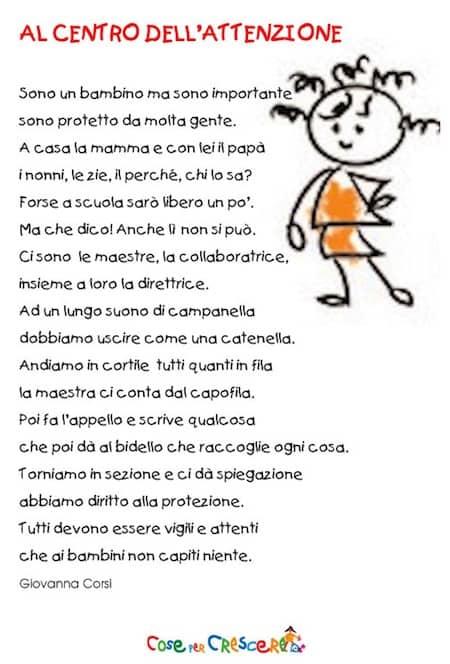 Célèbre Poesia diritti dell'infanzia - diritti del bambino RJ91
