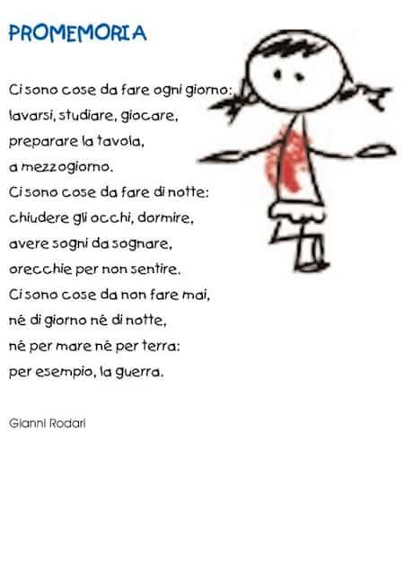 Poesia per bambini