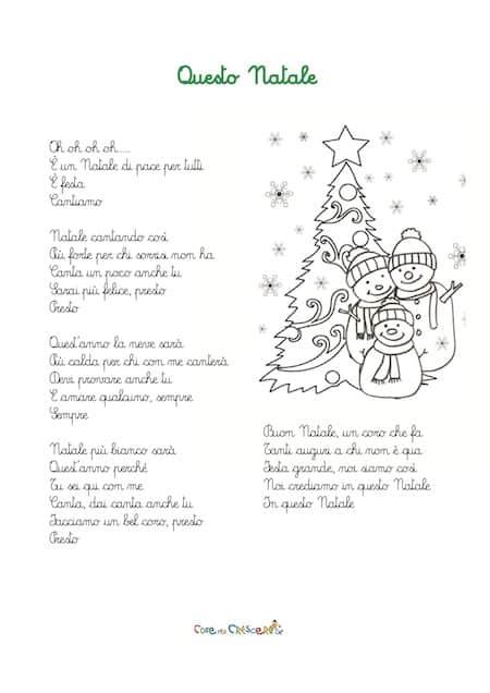 Canto di Natale per bambini