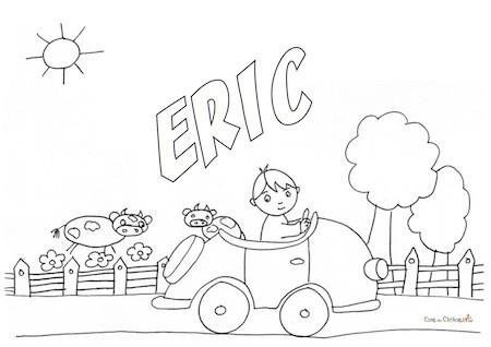 Eric da colorare
