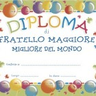 Diploma di fratello maggiore
