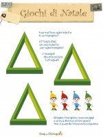 triangoli natale