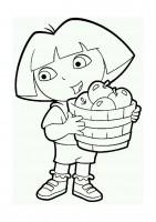 Disegno di Dora l'esploratrice