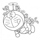 Doraemon e amici in volo