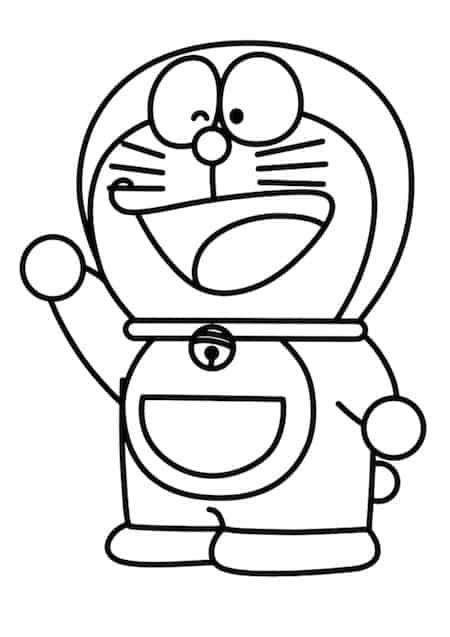 Doraemon da colorare - Cose semplici da cucinare ...