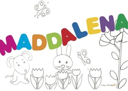 Maddalena significato e onomastico