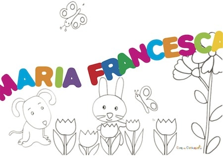 Maria Francesca significato e onomastico