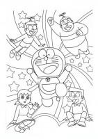 Doraemon E Amici Da Colorare Cose Per Crescere