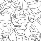 Doraemon e amici da colorare