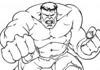 Disegni Di Hulk Da Colorare Immagini Da Stampare Gratis