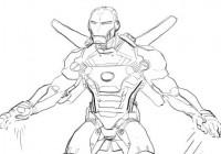 Disegni di supereroi da colorare gratis per bambini for Immagini super eroi da colorare