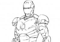Disegni Di Iron Man Da Colorare Immagini Da Stampare